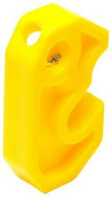 2x Nesco ELECTROMATE LOCKOUT DEVICES For Miniature Curcuit Breaker, Yellow