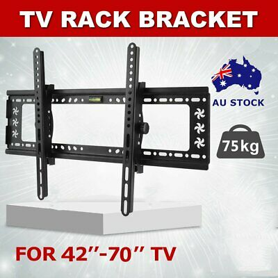"42-70"" inch LCD LED Plasma TV XL Large Slim Tilt Wall Mount Bracket Up to SER1"