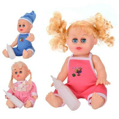 Silicone Baby Singing Dolls Toy Doll Model Music Toys for Babies Girls Gifts DD