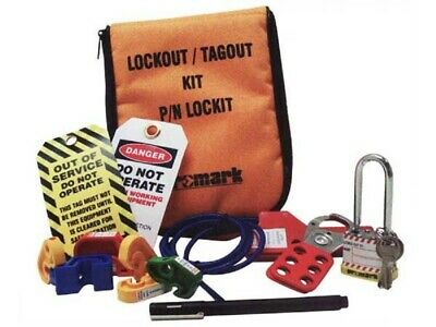 Promark MULTI FUNCTION LOCK OUT COMPONENTS SET 12-Tools*Australian Brand