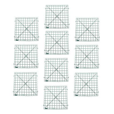 Wall Plastic Panel Holder Rack For DIY Wedding Flower Foral Backdrop 60x40cm 10X