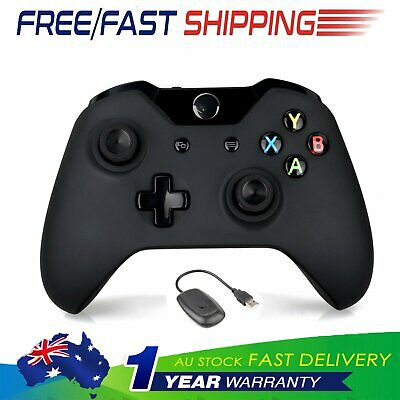 2018 Xbox One Wireless Game Gamepad Controller for Microsoft Xbox One Black OZ.