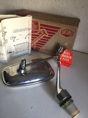 DESMO 214 BOOMERANG CARAVAN MIRROR WITH BOX and instructions - new with tag