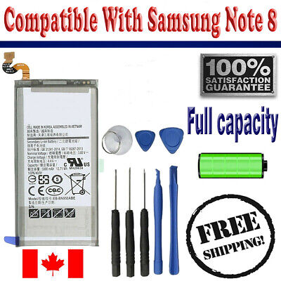 Brand NEW Original OEM Replacement Battery Samsung Galaxy Note 8 with free tools
