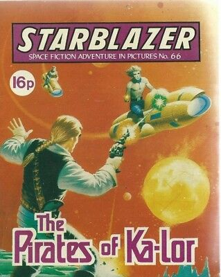 The Pirates Of Ka-Lor,no.66,starblazer Space Fiction Adventure In Pictures,comic