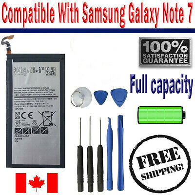 Brand NEW Original OEM Replacement Battery Samsung Galaxy Note 7 with free tools