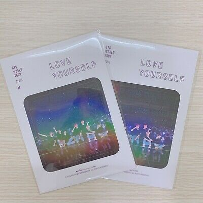 BTS Love Yourself World Tour Seoul DVD Official GIFT Sticker Pack