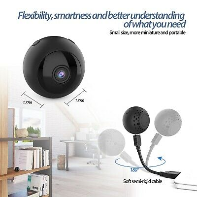 1080P Mini Wireless WIFI IP Camera HD Smart Home Security Camera Night Vision YS