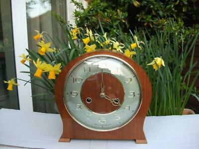 Stunning Smiths Very Rare 8 Day Striking Mantel Clock. 1961. Fully Overhauled.