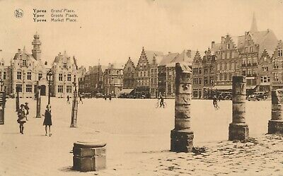 CPA - Belgique - Ieper - Ypres - Grand'Place