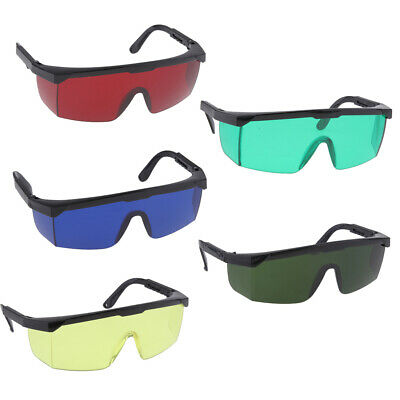 Pack of 5 Safety Goggles Eye's Protection Blue Light Blocking Glasses PC