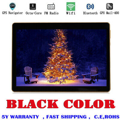 "10.1"" Tablet PC 4G+64G Octa-Core Dual SIM &Camera Android 6.0 Phone Wifi black"