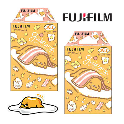 20 Sheets Fujifilm Instax Mini 9 Film Instant Gudetama Photo Papers For 8 70 90