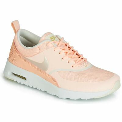 SCARPA NIKE AIR MAX THEA pink donna casual sneackers scarpe