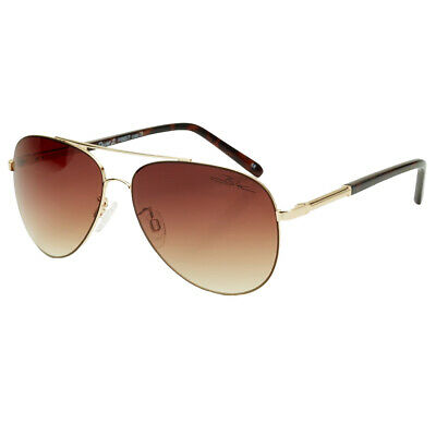 Bloc NEW Men's Dune 2 Sunglasses - Gold / Brown Graduated BNWT