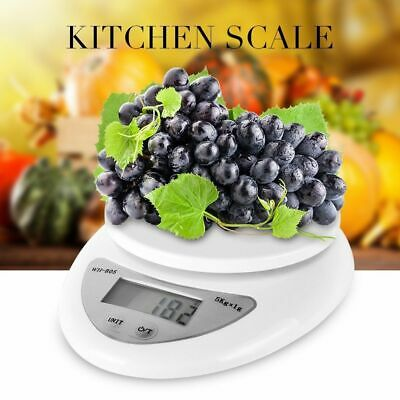 5kg/1g Digital Kitchen Food Scale Weight Balance Electronic Diet Postal Gram LM1