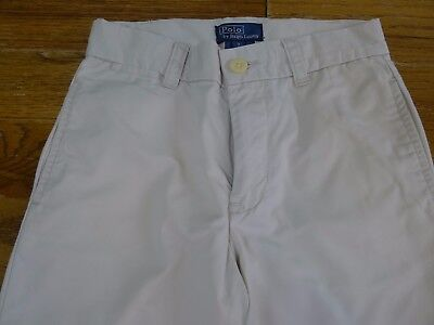 Ralph Lauren beige girls trousers size 7 years