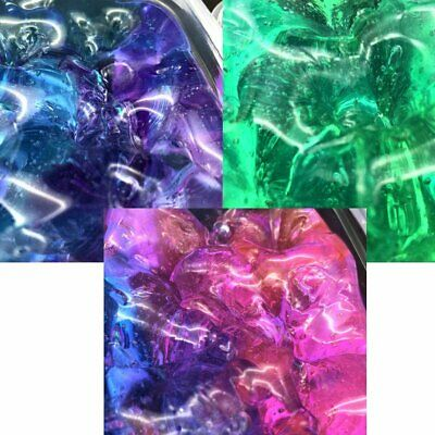 5X COLORFUL CLAY Slime DIY Non-toxic Crystal Mud Play Transparent