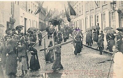 CPA - Belgique - Veurne - Furnes - Procession
