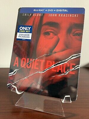 A Quiet Place Steelbook (Blu-ray/DVD/Digital, 2018) Factory Sealed