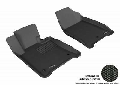 3D MAXpider Second Row Custom Fit All-Weather Floor Mat for Select Subaru Forester Models Kagu Rubber L1SB00921501 Gray