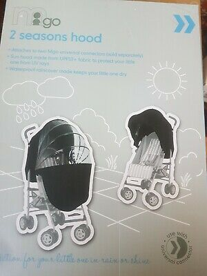 Mothercare Lightweight 2 Seasons Sunshade And Weathershield Raincover