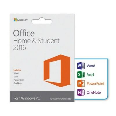 LIFETIME ACTIVATION - Microsoft Office Home and Student 2016 - LICENSE KEY