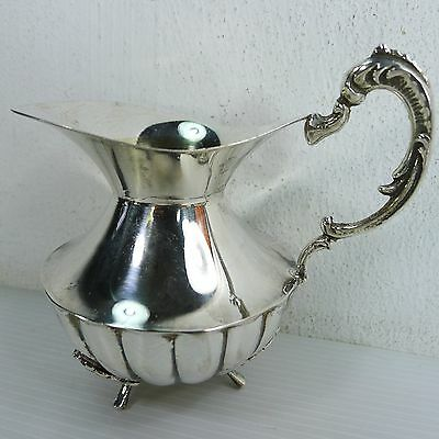 A Beautiful Small Vintage Jug, Sterling Stamped And Hazorfim Hallmarked