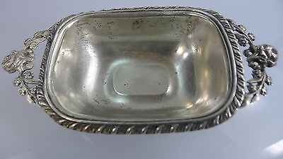 A Small Antique/Vintage Lovely Silver Sterling Bowl  /  Free Shipping