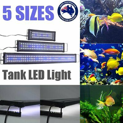 45-120CM Aquarium LED Lighting 1ft/2ft/3ft/4ft Marine Aqua Fish Tank Light AUBB