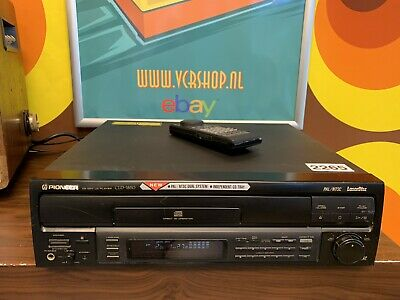Pioneer CLD-1850 - Laserdisc Player + Remote (PAL & NTSC)