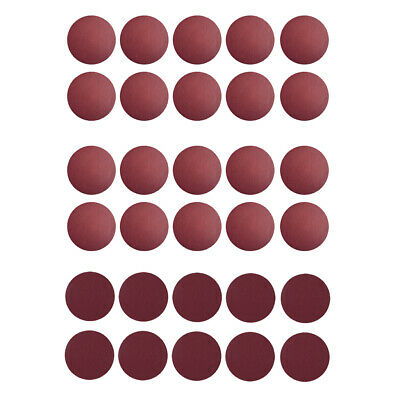 30pcs 150mm Sanding Discs Sandpaper  Abrasive Polishing Pads