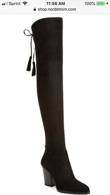210a2a4a11d MARC FISHER ALINDA Over The Knee Boots Sz. 9 -  80.99