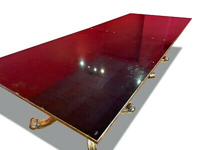 Amazing 12ft Christopher Guy Designer Art Deco style table French Polished