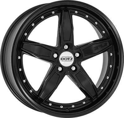 504df51c5cd Dotz SP5 black edt. wheels 8.5Jx19 ET35 5x108 for VOLVO C30 C70 S40 S60