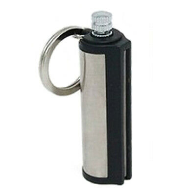 Permanent Match Fire Starter Flint Striker Lighter Reusable Fluid Round