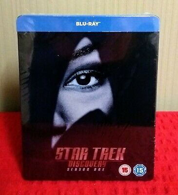 Star Trek Discovery Season One (2018) Steelbook Bluray Region B New And Sealed