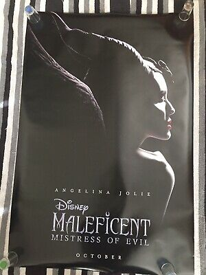 Maleficent Mistress Of Evil 2019 Large Movie Poster 27x40