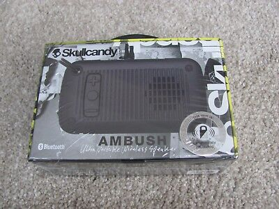 New Skullcandy Ambush Water-Resistant Drop-proof Bluetooth Portable Palm Speaker
