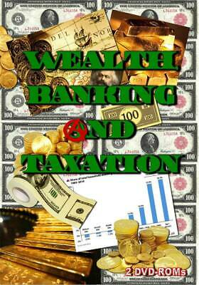 All About Wealth, Banking & Taxation - 2 DVD-ROM boxed shrinkwrapped