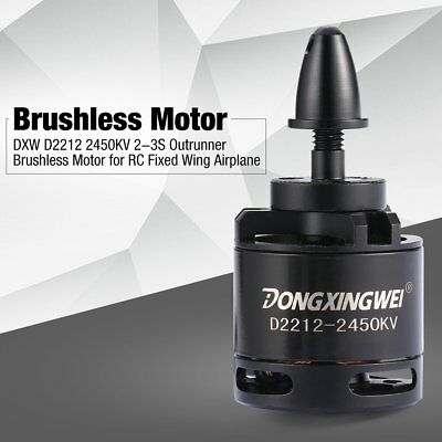 DXW D2212 2450KV 2-3S Outrunner Brushless Motor for RC Fixed Wing Airplane CA