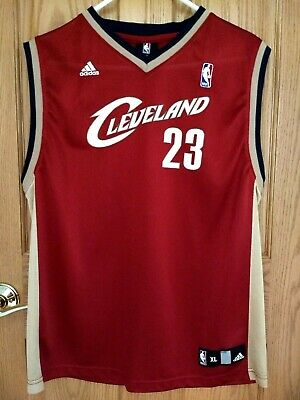 the best attitude e504b 1937f LEBRON JAMES #23 Cleveland Cavaliers Adidas NBA Jersey Youth ...