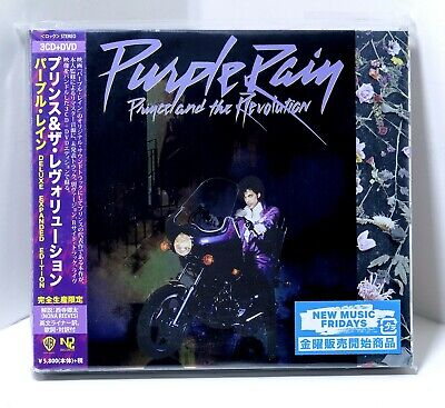 PRINCE Purple Rain Expanded 3xCD + DVD Sealed 2017 Unreleased JAPAN Obi Booklet
