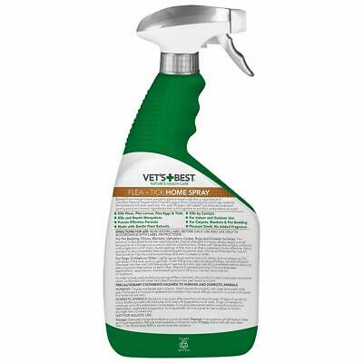 Vet's Best Flea and Tick Spray fro Dog and Home, 32 oz FREE SHIPPING