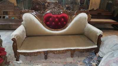 Antiq/Vintage Sofa Suite-Hardwood Frame-FRENCH Style-Guaranteed 2b found NO WHER