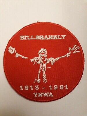 Bill Shankly LFC Liverpool FC 3 Inch Iron Or Sew On Patch Badge