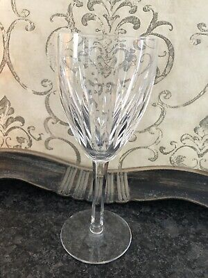 "WATERFORD Crystal ""CARINA"" Water Wine Glass Goblet Great Price! 10 Avail!"