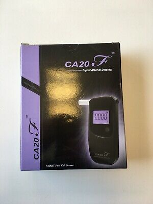 CA20F Digital Alcohol Detector Breathalyser (Workplace/Occupational Health)