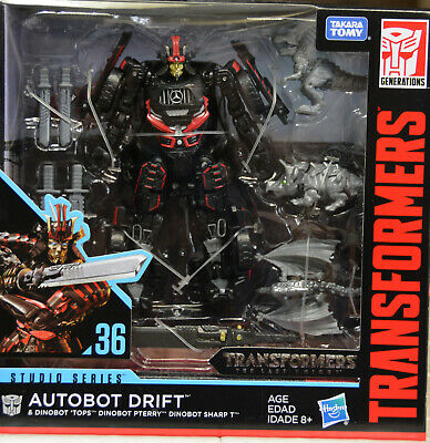 Transformers Studio Series Autobot Drift with Dinobots Tops Pterry Sharp T #36