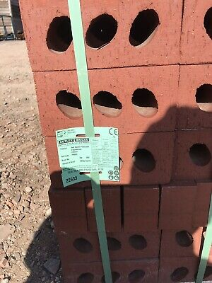 Red Perforated Engineering Bricks Packs Of 400 Class A